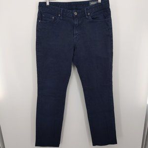 Bonobos Travel Jean Navy Straight Fit Size 35X34
